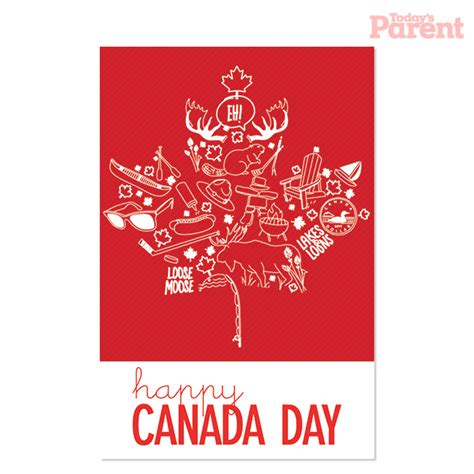 printable gift cards canada canada day bbq invitation printable today s parent