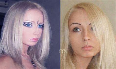 Lu Modul 3 Mata Biru foto valeria lukyanova sebelum dan sesudah make up