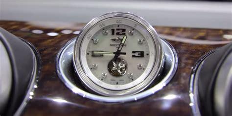 bentley bentaygas optional dash clock costs
