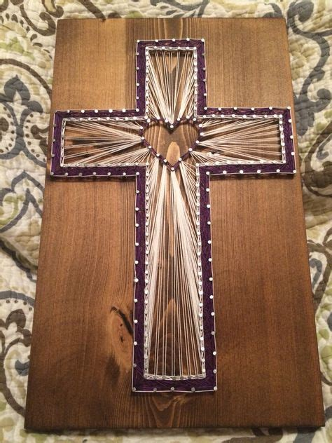 String Cross - cross string religious nail thread order from