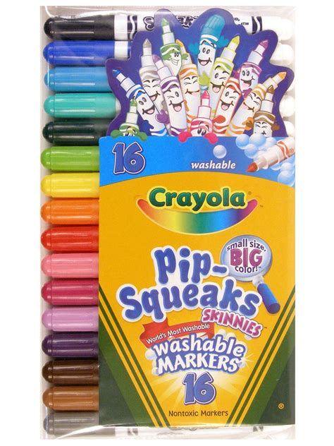 Pcp330 Colour Navy Include Paperbag Certificate crayola pip squeaks skinnies misterart