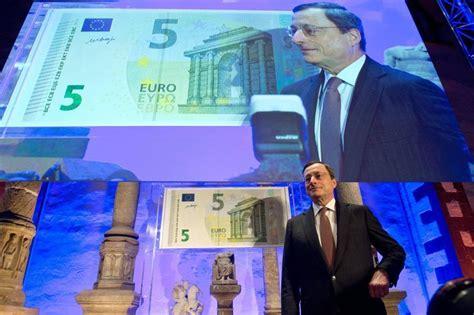presidente della centrale europea 5 ecco la nuova banconota