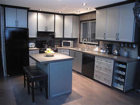 cabinet refacing modern kitchen edmonton  reface