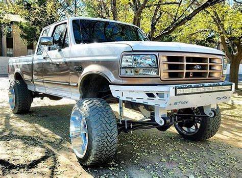 1992 1998 obs ford f250 f350 front bumper showtime metal
