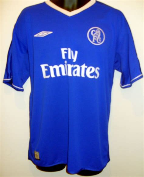 T Shirt Chelsea 03 chelsea home football shirt 2003 2005 added on 2016 04