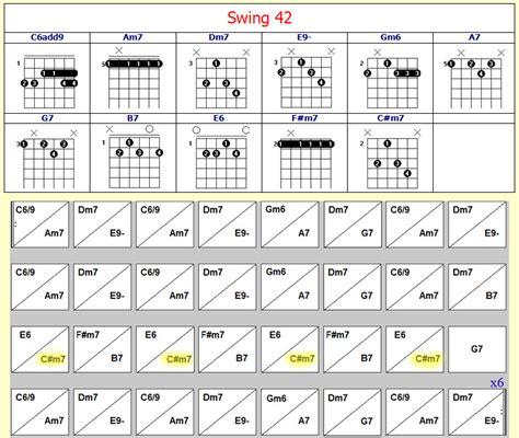 swing 42 chords swing 42