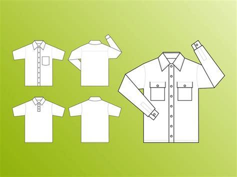 T Shirt Design Vorlagen Kostenlos Mode Shirt Design Vorlagen Vektor Der Kostenlosen Vektor