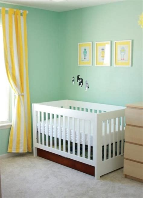 14 ideas to decorate a nursery in a fresh color combo yellow and aqua kidsomania