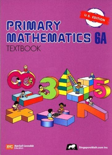 Top Maths Textbook 6a primary mathematics 6a textbook u s edition u s edition