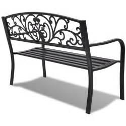 la boutique en ligne vidaxl banc de jardin fonte noir