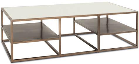 rectangular metal coffee table bristol bronze metal rectangular coffee table from