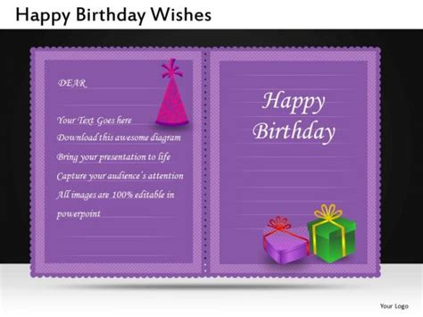 Powerpoint Template For Birthday Card by 40th Birthday Ideas Free Editable Birthday Invitation
