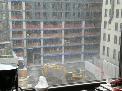 current building work opposite picture of comfort inn