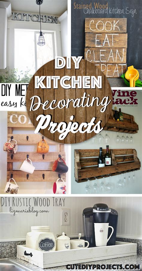Diy Projects For The Kitchen by The 35 Best Diy Kitchen Decorating Projects Diy