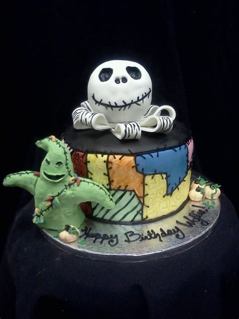 nightmare before christmas cake nightmare before