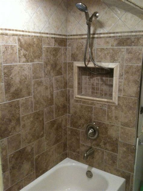 bathroom shower tub tile ideas tile tub surround home ideas pinterest tile love