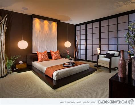 charming bedrooms  asian influence home design