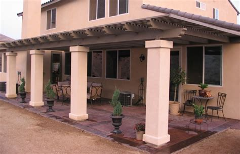 Patio Columns Design Stucco Wood Patio Cover Drawings Modern Patio Outdoor