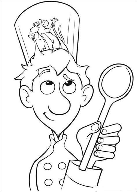 Ratatouille Coloring Pages n 55 coloring pages of ratatouille