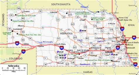 directions to lincoln ne nebraska map
