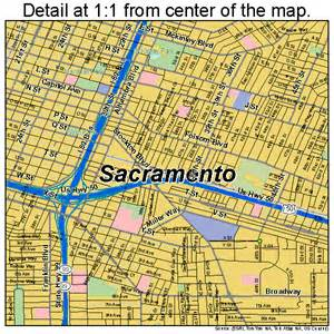 map california sacramento sacramento california map 0664000