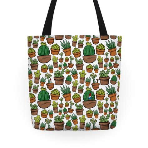 desert pattern tote bag succulent pattern tote bag lookhuman
