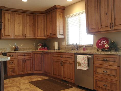 Rustic Cherry Kitchen Cabinets Rustic Cherry Kitchen Photos
