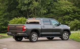 Future Toyota Tundra 2018 Toyota Tundra Rear Angle Car Models 2017 2018