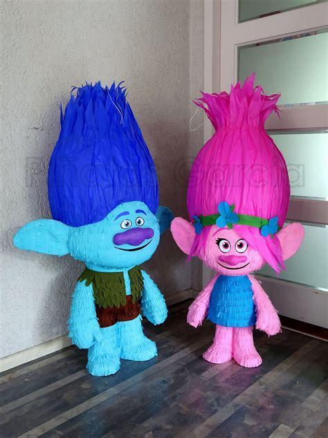 Pinata Trolls By Pinata Dimi trolls pi 241 ata s branch poppy pi 241 atas
