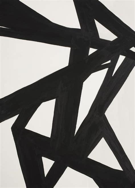 Ballard Design Com abstract black white wall art west elm