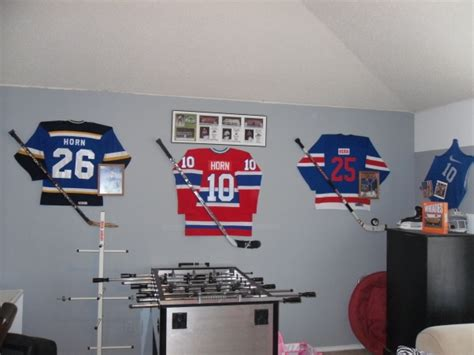 ice hockey bedroom ideas boys hockey room ideas gameroom the guys boys room