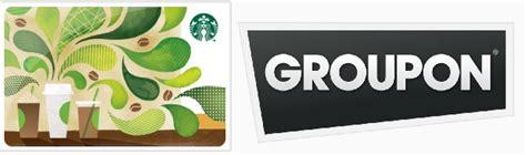 How Do Groupon Gift Cards Work - groupon starbucks e gift card deal 10 for 15 starbucksg