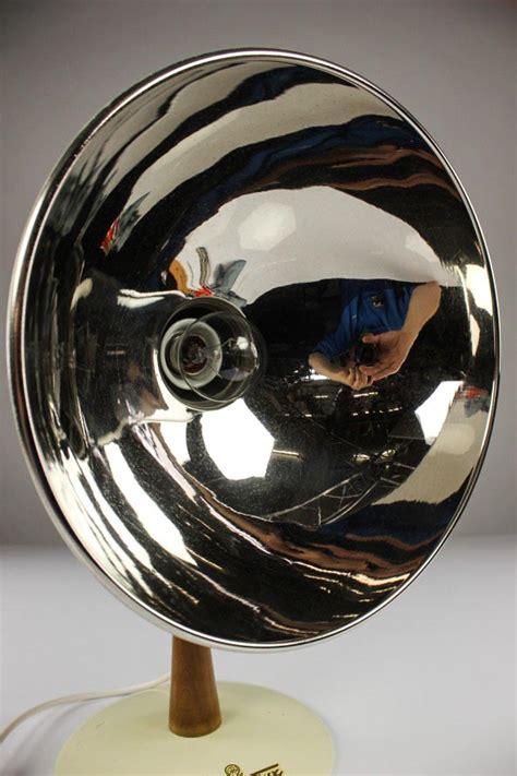 Pipa Soket Lu 50 Cm alte tisch leuchte thermolux wien industriedesign strahler