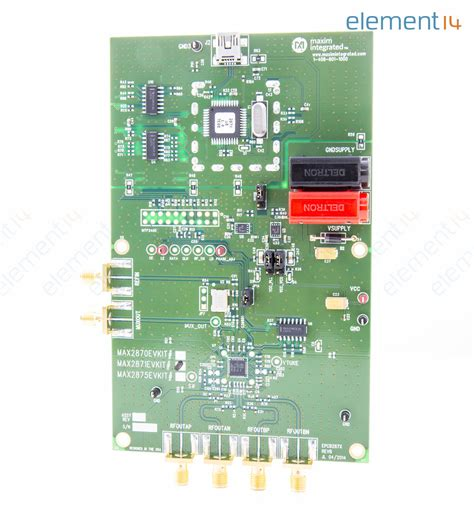 maxim integrated products netherlands max2871evkit maxim integrated products evaluation board pll vco newark element14