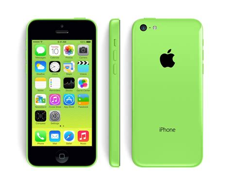 Papercraft Iphone - papercraft iphone 5c green