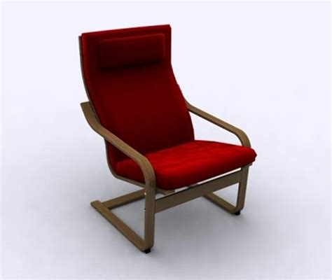 poang armchair review armchair poang 3d model