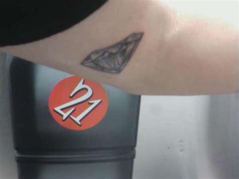 diamond tattoo elbow diamond inner elbow tattoo