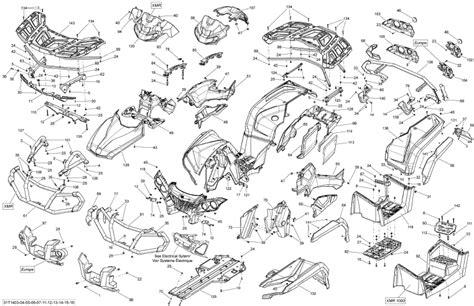 can am parts diagram 2014 outlander 650 efi xmr rh cap can am part number