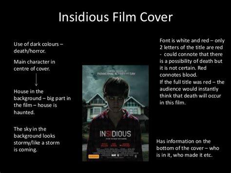 themes in a horror film horror film cover ideas