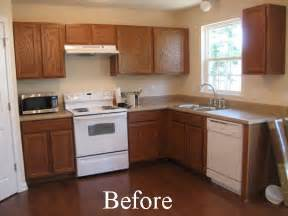 Before And After Painting Kitchen Cabinets Dress My Home Painting Your Kitchen Cabinets