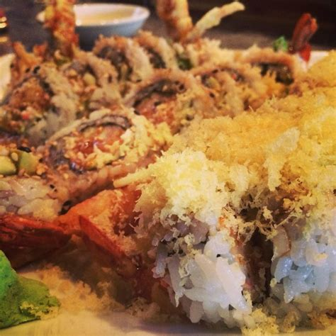 futon roll sushi mk sushi spider roll crunch roll shrimp tempura roll