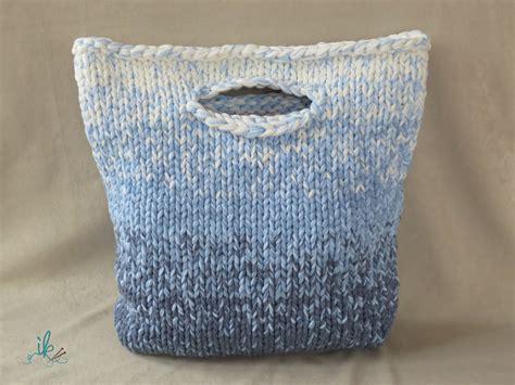 stricken taschen ombr 233 stricken no 1 tasche mit farbverlauf stricken