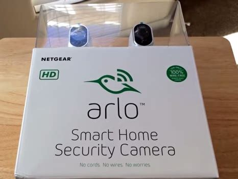 review, arlo smart home wireless security camera system