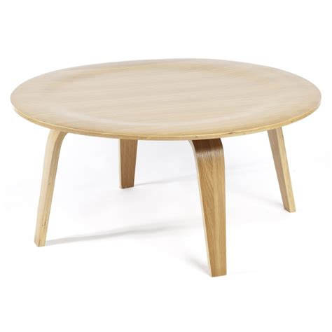 Circular Wooden Table Coffee Tables Groovy Home Funky Contemporary