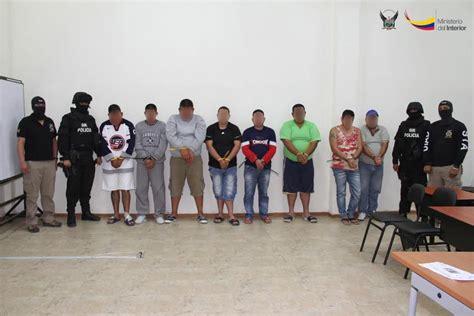 imagenes de varias bandas desarticulan varias bandas delictivas el diario ecuador