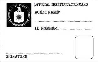 Special Agent Id Card Template Fbi Badge Template For Kids Galleryhip Com The Hippest