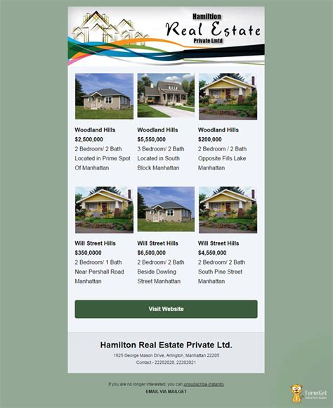 10 Free Real Estate Email Templates Mailget Real Estate Email Signature Templates