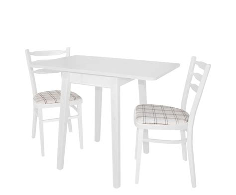 Small Drop Leaf Table With 2 Chairs Small Rectangular Wood Drop Leaf Dining Table With 2 Chairs And Fabric Seats Painted With
