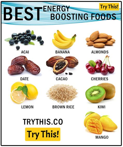 Energy Boosting Snacks by 10 Best Energy Boosting Foods Food Tips Trythis