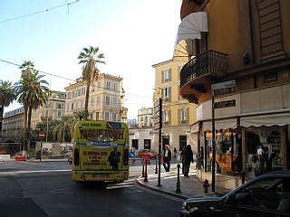 shoppen  san remo italie winkelen  het oude centrum